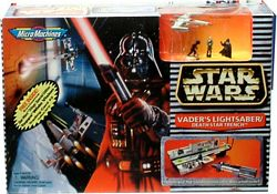 MicroMachines Vader Lightersaber Death Star Trench