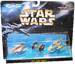 MicroMachines XII - A-Wing, Tie Starfighter, Y-Wing