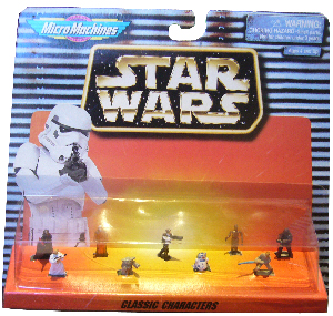 MicroMachines - Classic Characters (Yoda, Han, Luke, Leia, Vader, and More)