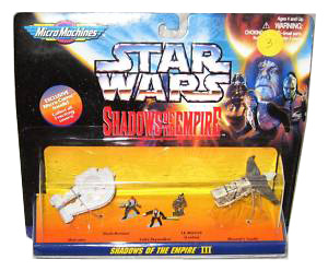 MicroMachines - Shadows Of The Empire - III [Outrider, Dash Rendar, Luke Skywalker, Leebo, Hound Tooth]