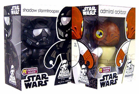 Mighty Muggs - Admiral Ackbar and Shadow StormTrooper