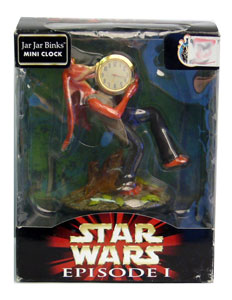 Jar Jar Binks - Mini Clock