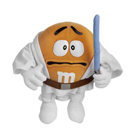Orange M&M Luke Skywalker