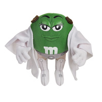 Green M&M Princess Leia