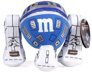 Blue M&M R2-D2