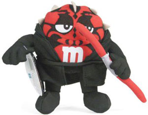Red M&M Darth Maul