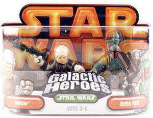 Galactic Heroes - Boba Fett and Dengar GOLD