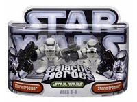 Galactic Heroes - Stormtrooper and Stormtrooper Silver