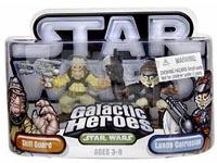 Galactic Heroes - Skiff Guard and Lando Calrissian SILVER