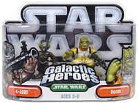 Galactic Heroes - Bossk and 4-LOM SILVER