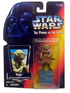 POTF: Yoda with Jedi Trainer Backpack