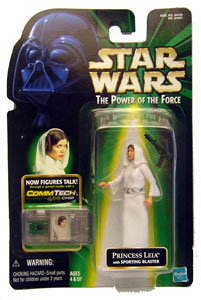 POTF - Green: Princess Leia with Sporting Blaster