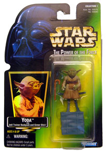 POTF - Green: Yoda Jedi Trainer Backpack with Hologram