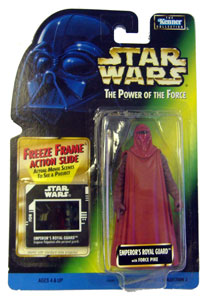 POTF - Green: Freeze Frame Emperor Royal Guard Red