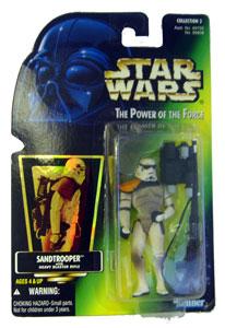 POTF - Green: Sandtrooper with Holograph