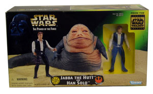 Jabba The Hut and Han Solo