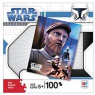 Clone Wars Puzzle - 100 pcs - Obi-Wan Kenobi