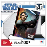 Clone Wars Puzzle - 100 pcs - Anakin Skywalker