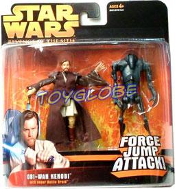 Obi-Wan Kenobi with Super Battle Droid