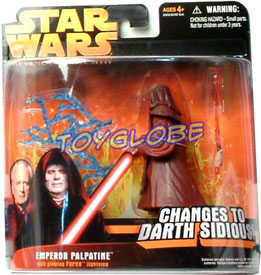 Empreror Palpatine Changes to Darth Sidious
