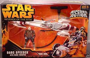 ROTS - Barc Speeder with Barc Trooper