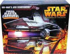 Obi-Wan ROTS Jedi Starfighter