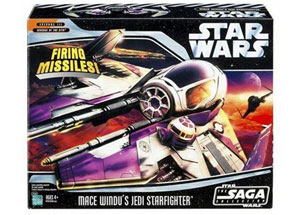 Mace Windu -  Jedi Starfighter