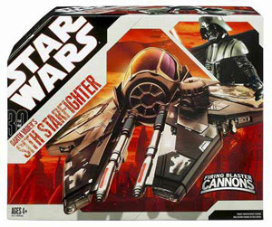 Darth Vader Black Jedi Starfighter