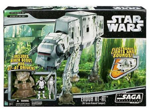 Classic Endor AT-AT with Scout and Driver