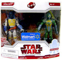 Legacy Collection 2-Pack Exclusive: Boba Fett and BL-17[Build Dark Trooper]