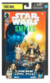 Star Wars Comic Pack - Exclusive Star Wars Empire 8 - Camie Marstrap and Laze Fixer Loneozner