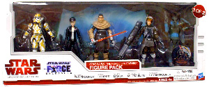 Star Wars 2010 Legacy Collection Exclusive Force Unleashed 5-Pack 1 of 2