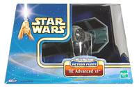 AOTC - Tie Advanced X1 Action Fleet Micro Machines