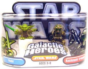 Galactic Heroes: Yoda and Kashyyyk Trooper Silver