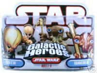 Galactic Heroes - Hammerhead and Figrin Dan