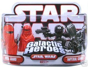 Galactic Heroes Royal Guard and Imperial Gunner