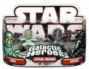 Galactic Heroes Duros and Garindan RED BACK