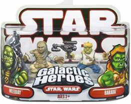 Galactic Heroes - Weequay and Barada RED BACK