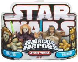 Galactic Heroes - Saesee Tiin and Agen Kolar RED BACK