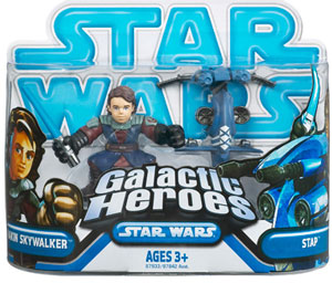 Galactic Heroes - Anakin Skywalker and Stap BLUE