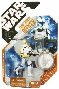 30th Anniversary Saga Legends - Yellow Clone Trooper Officer