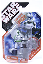 30th Anniversary Saga Legends - Green Clone Trooper Officer