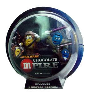 Chocolate Mpire: Chewbacca and Mace Windu