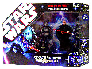 Force Unleashed Exclusive - Commemorative Collection with Emperor Palpatine and Shadow Stormtroopers