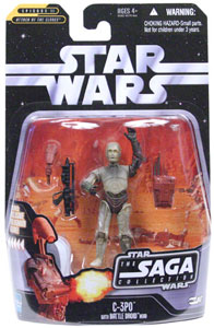 Saga Collection: C-3PO with Battle Droid Head - 17