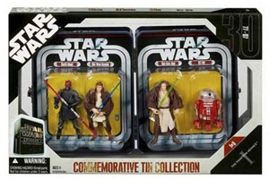 Star Wars Episode I Commemorative Tin Collection