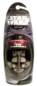 Titanium Die-Cast: Swamp Speeder