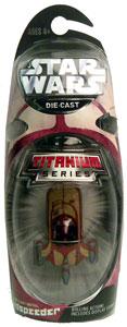Titanium Die-Cast: Landspeeder