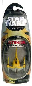 Titanium Die-Cast: Naboo Fighter