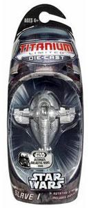 Titanium Die-Cast: Limited Edition Silver Slave